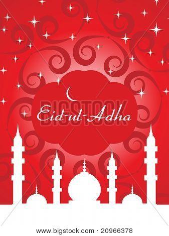 vector illustration for eid al adha