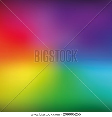 Bright rainbow mesh vector background. Eps 10 illustration