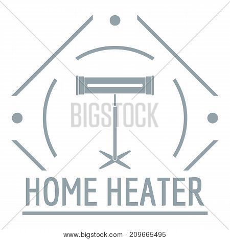 Comfort heater logo. Simple illustration of comfort heater vector logo for web