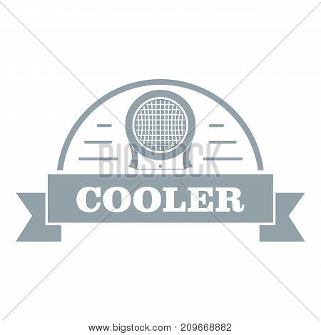 Air cooler logo. Simple illustration of air cooler vector logo for web