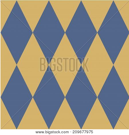 Seamless vector pattern Rhombic geometric  background The element of design to create layouts, backgrounds, printing on fabric, paper, wrapping, Wallpaper Ornament in ethnic style Vector illustration