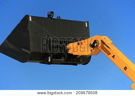 Tractor Bucket, The Concept Of Agronomy,