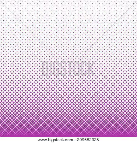 Geometrical abstract halftone square pattern background - vector design from squares in varying sizes