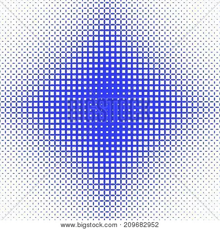 Abstract symmetrical halftone ellipse grid pattern background - vector graphic design from ellipses in varying sizes