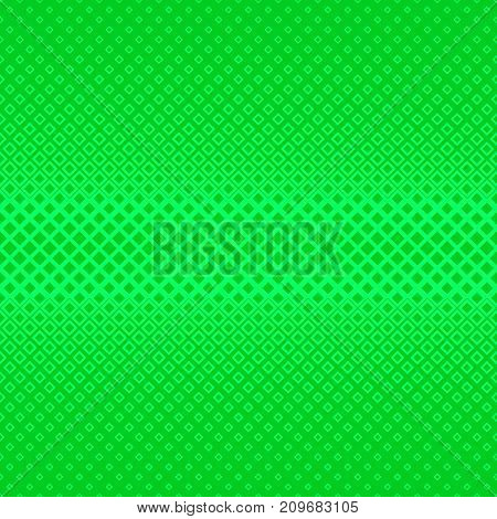 Green abstract geometrical halftone square pattern background - vector illustration from squares in varying sizes