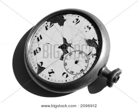 Isolated Antique Pocketwatch