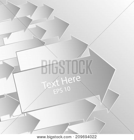 Abstract background with group of shooters. Paper petal Vector illustration.
