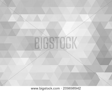 abstract grey low polygon background. Abstract background of gray triangles.