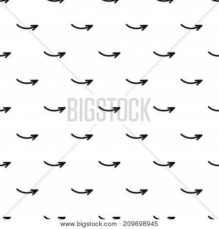 Arrow pattern seamless. Simple illustration of arrow vector pattern seamless geometric repeat background