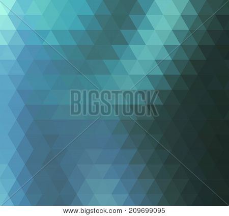 vector geometric abstract background with triangles and lines. Abstract background of blue triangles