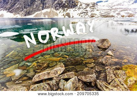 Djupvatnet Lake, Norway