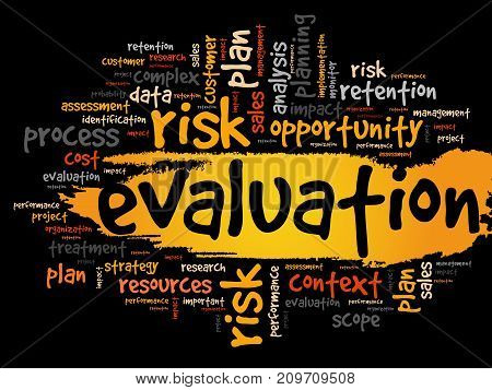 Evaluation Concept In Word Tag Cloud