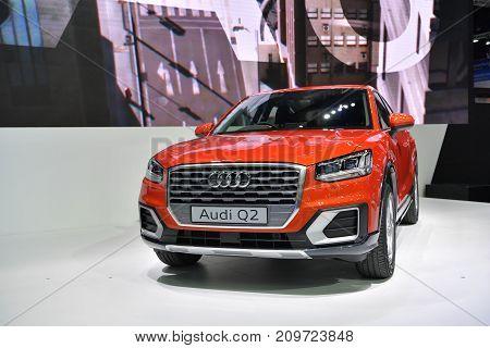 Audi Q2 In Bangkok International Thailand Motor Show 2017