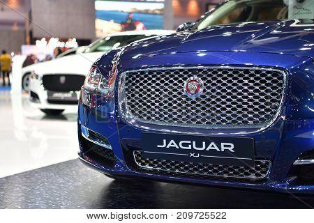 Jaguar Xj In Bangkok International Thailand Motor Show 2017
