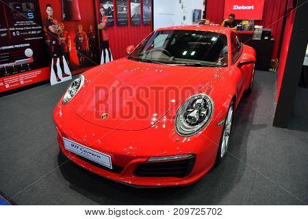 Porsche 911 Carrera In Bangkok International Thailand Motor Show 2017