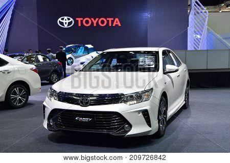 Toyota Camry Extremo In Bangkok International Thailand Motor Show 2017