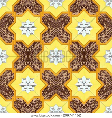 Vector seamless pattern. Repeating abstract background. Modern stylish texture. Vector repeating texture