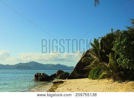 Magnificent Seychelles Boulder Composition