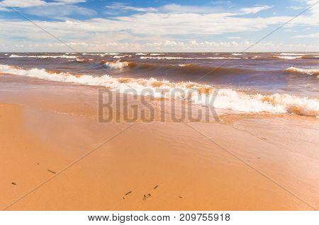 Foaming Water Sunshine Surf