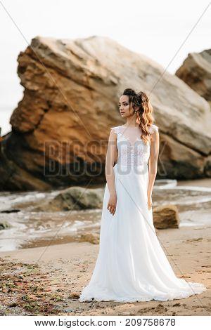 Bride On The Shore Of The Black Sea