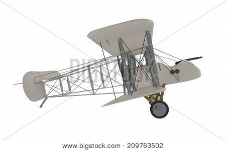 invention of the design of a military aircraft. 3d rendering