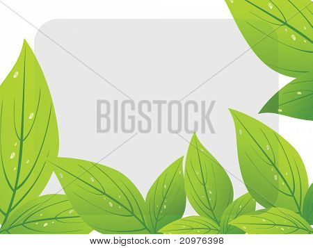 abstract ecology concept background, vector illustration
