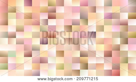 Geometric abstract rectangle background - gradient mosaic vector design from colorful rectangles