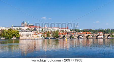 St. Vitus Cathedral, Charles Bridge, Prague