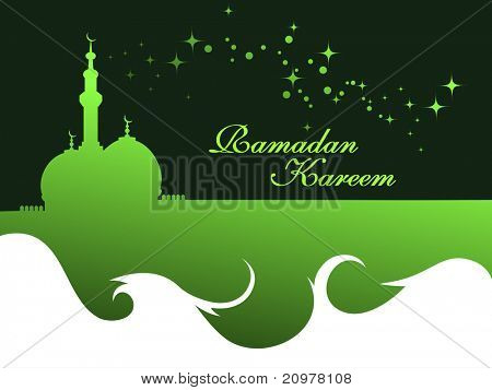 elegant concept wallpaper for ramadan kareem