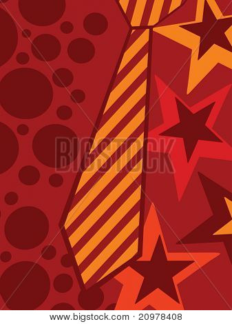 abstract creative artwork background for father's day celebration