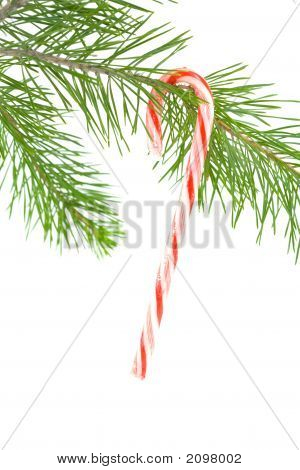 Candy Cane Ornament 1