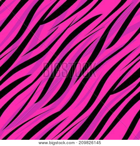 Seamless zebra skin african pattern style abstract, tiger