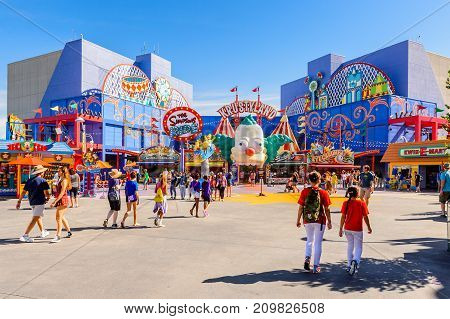 Universal Studios Hollywood Park, Los Angeles, Usa