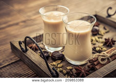 Traditional Indian Drink - Masala Chai Tea