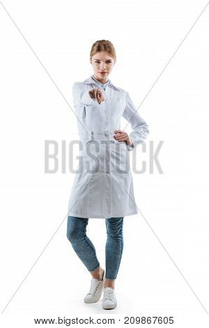 Chemist Pointing At You