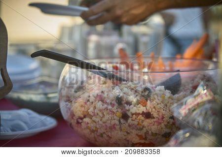 Rice Salad Ready