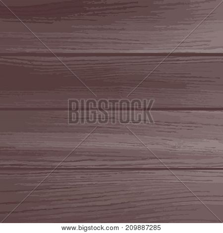 Vector wood plank background, brown color. Vector illustration is freely transformed to your design format