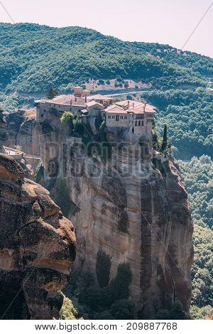 Meteora Monasteries, Greece. Varlaam Monastery