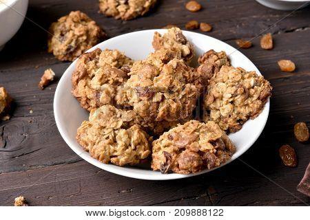 Tasty Healthy Oatmeal Cookies