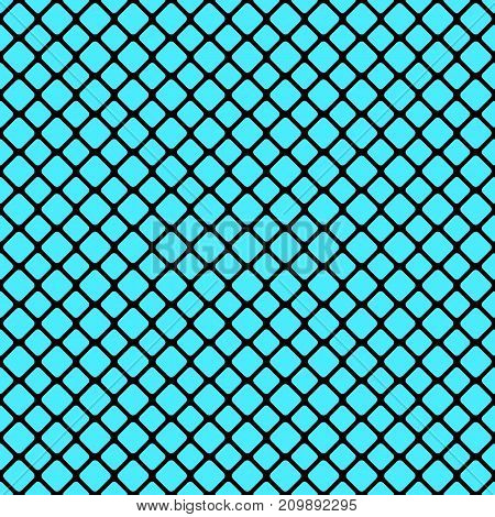 Abstract seamless rounded square grid pattern background design - vector graphic design