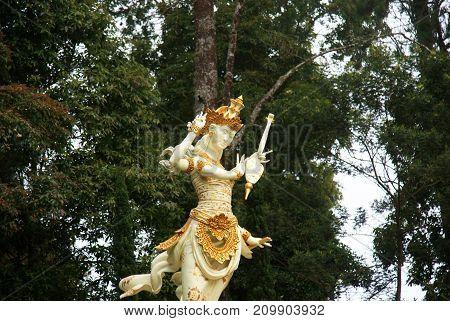Saraswati Castle/ Puri Saraswati, Located near Cetho Temple, Karanganyar, Indonesia
