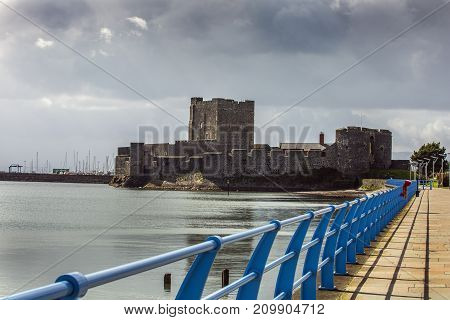 Carrickfergus castle a historic castle near Belfast
