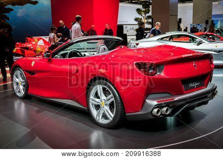 New Ferrari Portofino Sports Car