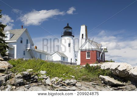 The Pemaquid Point Lighthouse