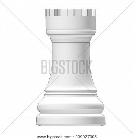 Isolated Chess Piece 3D Illustration