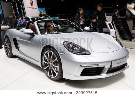 Porsche 718 Boxster Sports Car