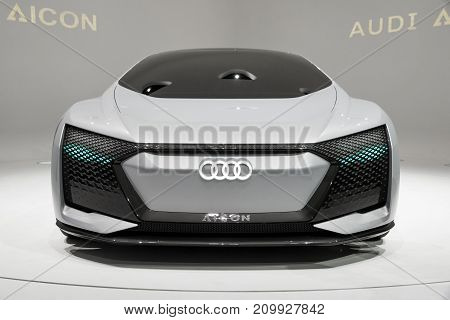 Audi Aicon Autonomous Electric Concept Car