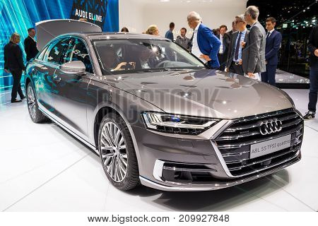 New 2018 Audi A8 L Quattro Car