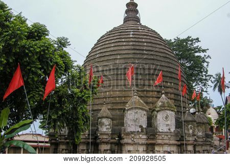 The Kamakhya Temple or Kamrup-Kamakhya is a Hindu temple dedicated to the mother goddess Kamakhya. Situated on the Nilachal Hill in western part of Guwahati city in Assam India.