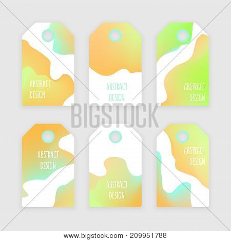 Discount tag clothing with abstract design eps 10